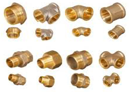 Brass Forged Threaded Fittings