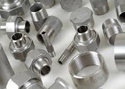 Nickel Alloy 201 Forged Threaded Fittings